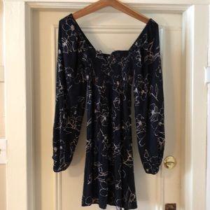Billabong Dresses - BILLABONG Floral Dress - Long Sleeve